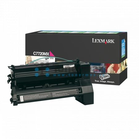 Lexmark C7720MX, return, originální toner pro tiskárny Lexmark C772dn, C772dtn, C772n, X772e