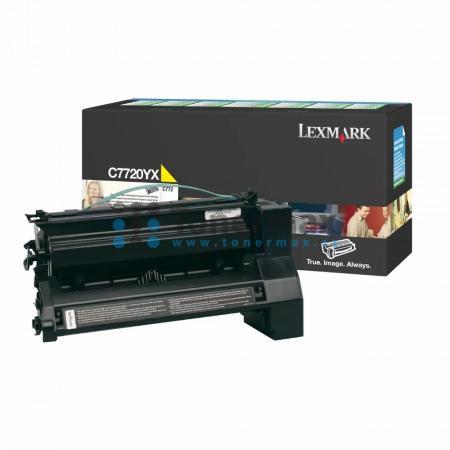 Lexmark C7720YX, return, originální toner pro tiskárny Lexmark C772dn, C772dtn, C772n, X772e