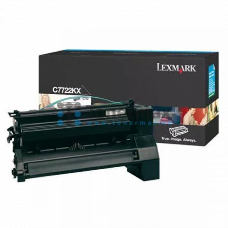 Lexmark C7722KX, originální toner pro tiskárny Lexmark C772dn, C772dtn, C772n, X772e