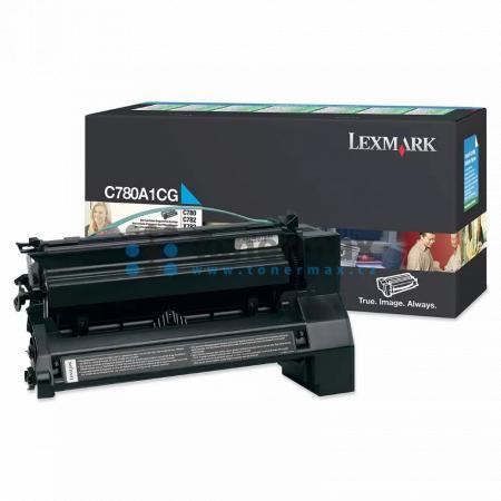 Lexmark C780A1CG, return, originální toner pro tiskárny Lexmark C780dn, C780dtn, C780n, C782dn, C782dtn, C782n, X782e