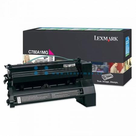 Lexmark C780A1MG, return, originální toner pro tiskárny Lexmark C780dn, C780dtn, C780n, C782dn, C782dtn, C782n, X782e
