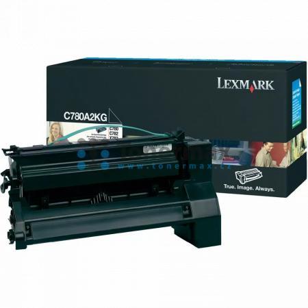 Lexmark C780A2KG, originální toner pro tiskárny Lexmark C780dn, C780dtn, C780n, C782dn, C782dtn, C782n, X782e