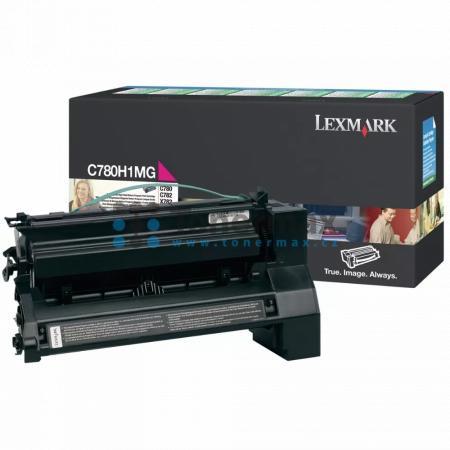 Lexmark C780H1MG, return, originální toner pro tiskárny Lexmark C780dn, C780dtn, C780n, C782dn, C782dtn, C782n, X782e
