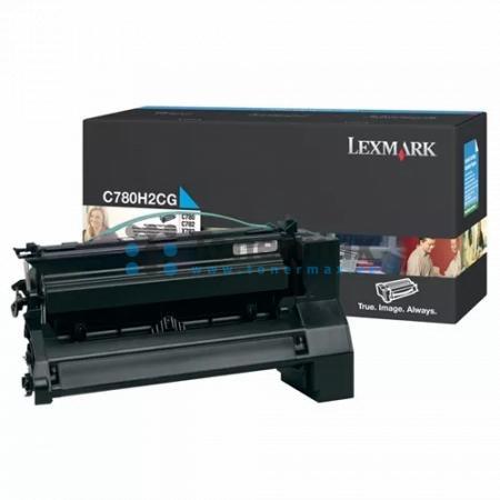 Lexmark C780H2CG, originální toner pro tiskárny Lexmark C780dn, C780dtn, C780n, C782dn, C782dtn, C782n, X782e