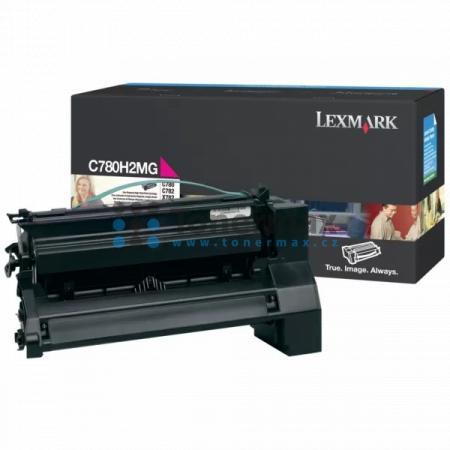 Lexmark C780H2MG, originální toner pro tiskárny Lexmark C780dn, C780dtn, C780n, C782dn, C782dtn, C782n, X782e