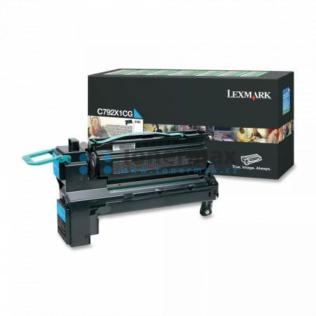 Lexmark C792X1CG, return, originální toner pro tiskárny Lexmark C792de, C792dhe, C792dte, C792e