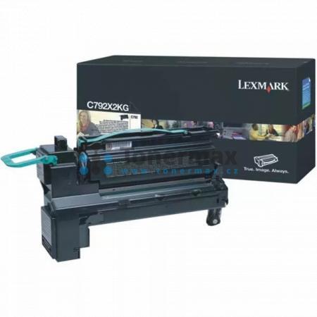 Lexmark C792X2KG, originální toner pro tiskárny Lexmark C792de, C792dhe, C792dte, C792e