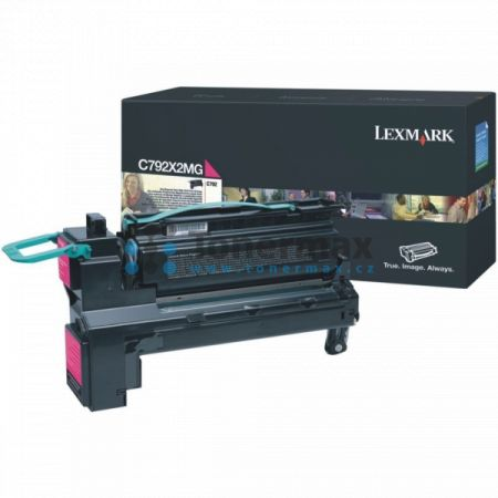 Lexmark C792X2MG, originální toner pro tiskárny Lexmark C792de, C792dhe, C792dte, C792e