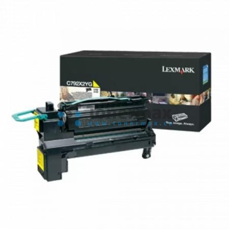 Lexmark C792X2YG, originální toner pro tiskárny Lexmark C792de, C792dhe, C792dte, C792e