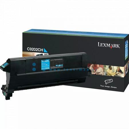 Lexmark C9202CH, poškozený obal, originální toner pro tiskárny Lexmark C920, C920dn, C920dtn, C920n