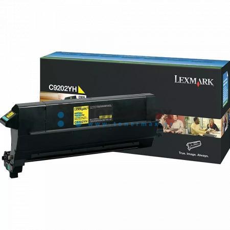 Lexmark C9202YH, poškozený obal, originální toner pro tiskárny Lexmark C920, C920dn, C920dtn, C920n