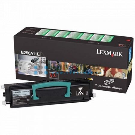 Lexmark E250A11E, return, originální toner pro tiskárny Lexmark E250d, E250dn, E350d, E352dn