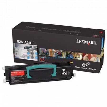 Lexmark E250A21E, originální toner pro tiskárny Lexmark E250d, E250dn, E350d, E352dn