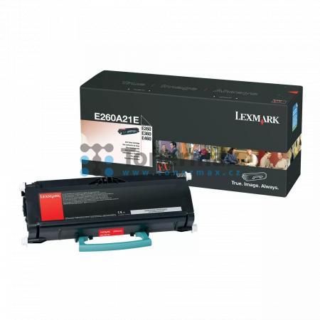Lexmark E260A21E, originální toner pro tiskárny Lexmark E260, E260d, E260dn, E360d, E360dn, E460dn, E460dw, E462dtn