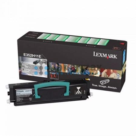 Lexmark E352H11E, return, originální toner pro tiskárny Lexmark E350d, E352dn
