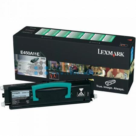 Lexmark E450A11E, return, originální toner pro tiskárny Lexmark E450dn