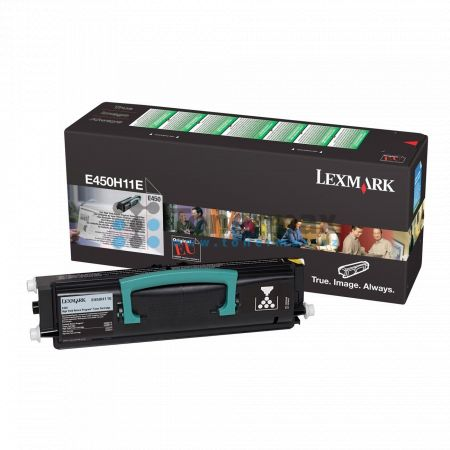 Lexmark E450H11E, return, originální toner pro tiskárny Lexmark E450dn
