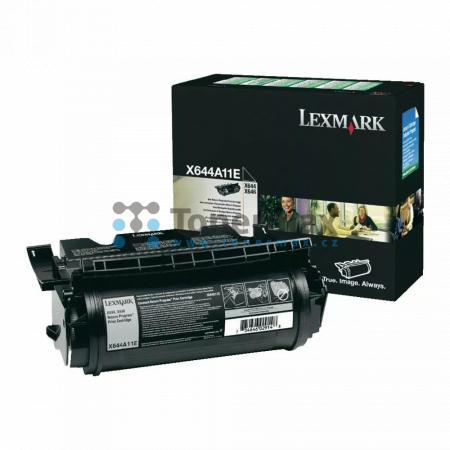 Lexmark X644A11E, return, originální toner pro tiskárny Lexmark X642e, X644e, X646dte, X646e, X646ef