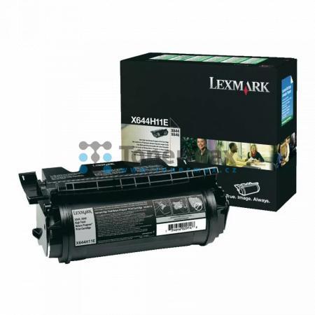 Lexmark X644H11E, return, originální toner pro tiskárny Lexmark X642e, X644e, X646dte, X646e, X646ef