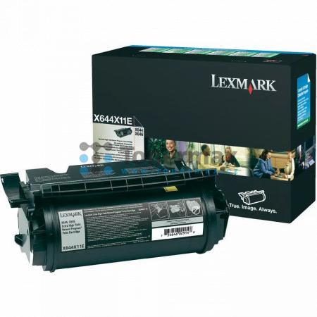 Lexmark X644X11E, return, originální toner pro tiskárny Lexmark X644e, X646dte, X646e, X646ef