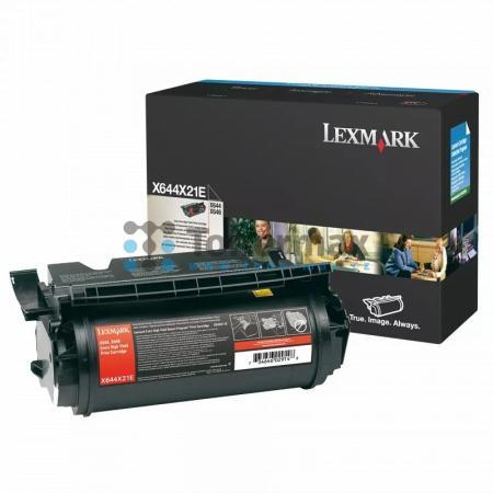 Lexmark X644X21E, originální toner pro tiskárny Lexmark X644e, X646dte, X646e, X646ef