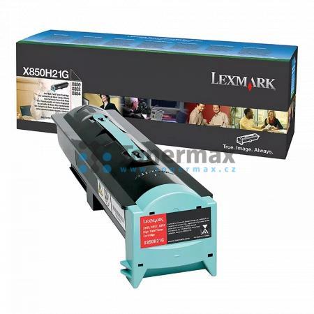 Lexmark X850H21G, originální toner pro tiskárny Lexmark X850e, X850e ve3, X850e ve4, X852e, X854e