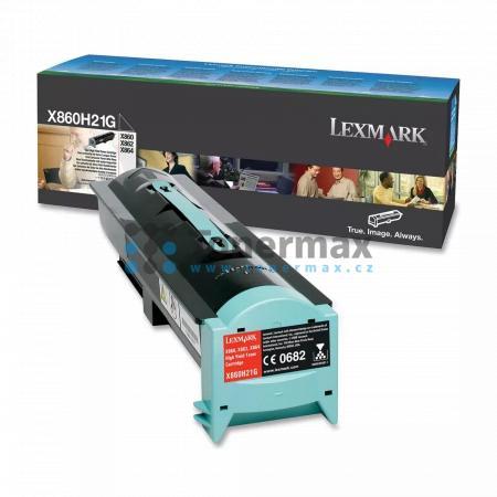 Lexmark X860H21G, originální toner pro tiskárny Lexmark X860de 3, X860de 4, X862de 3, X862de 4, X864de, X864de 3, X864de 4
