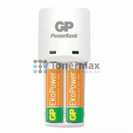 Nabíječka baterií GP PB410 + 2ks AA baterií