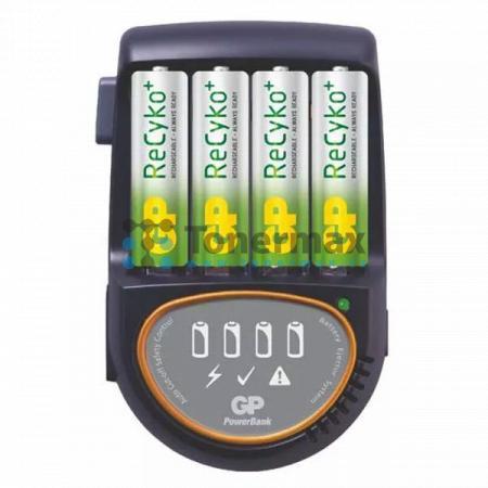 Nabíječka baterií GP PB50 + 4 ks AA