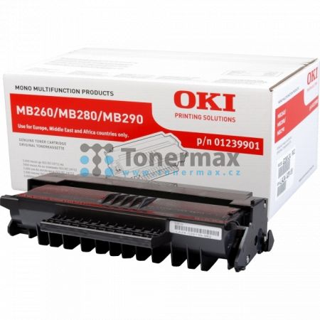 OKI 01239901, originální toner pro tiskárny OKI MB260, MB280, MB290