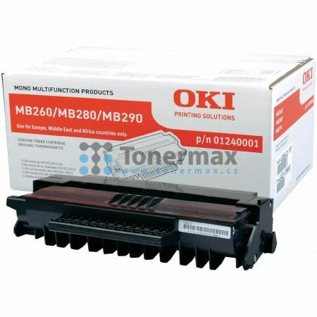 OKI 01240001, originální toner pro tiskárny OKI MB260, MB280, MB290