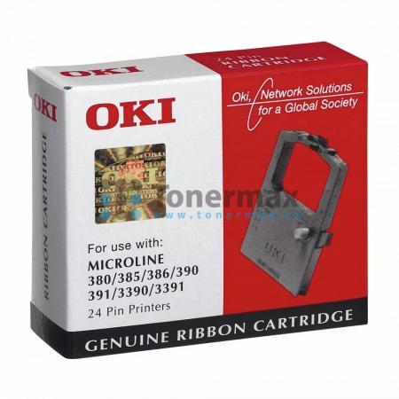 OKI 09002309 barvící páska originální pro tiskárny OKI MICROLINE 380, MICROLINE 385, MICROLINE 386, MICROLINE 390, MICROLINE 391, MICROLINE 3390, MICROLINE 3391