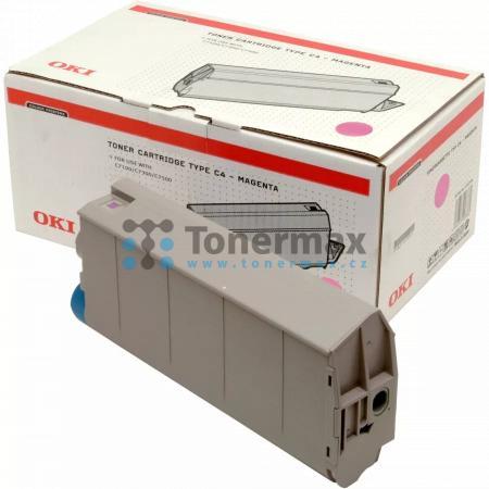 OKI 41963006, Typ C4, originální toner pro tiskárny OKI C7100, C7100n, C7300, C7300 V2, C7300dn, C7300dxn, C7300n, C7350, C7350dn, C7350dtn, C7350n, C7500, C7500 V2, C7500dxn, C7500hdn