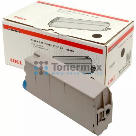 OKI 41963008, Typ C4, originální toner pro tiskárny OKI C7100, C7100n, C7300, C7300 V2, C7300dn, C7300dxn, C7300n, C7350, C7350dn, C7350dtn, C7350n, C7500, C7500 V2, C7500dxn, C7500hdn
