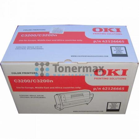 OKI 42126665, obrazový válec, poškozený obal originální pro tiskárny OKI C3200, C3200n