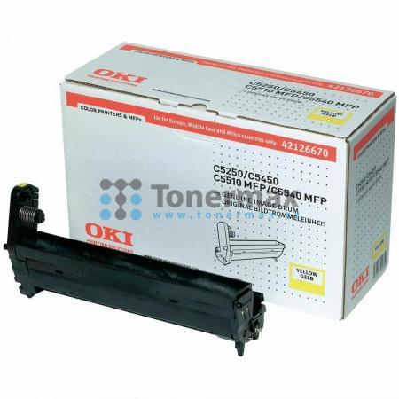 OKI 42126670, obrazový válec originální pro tiskárny OKI C5250, C5250dn, C5250n, C5450, C5450dn, C5450n, C5510, C5510 MFP, C5510MFP, C5540, C5540 MFP, C5540MFP