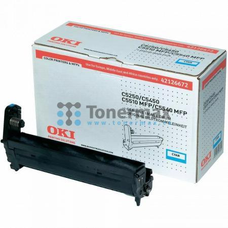 OKI 42126672, obrazový válec originální pro tiskárny OKI C5250, C5250dn, C5250n, C5450, C5450dn, C5450n, C5510, C5510 MFP, C5510MFP, C5540, C5540 MFP, C5540MFP
