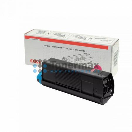 OKI 42127406, TYP C6, originální toner pro tiskárny OKI C5100, C5100n, C5200, C5200n, C5300, C5300dn, C5300n, C5400, C5400dn, C5400dtn, C5400n, C5400tn