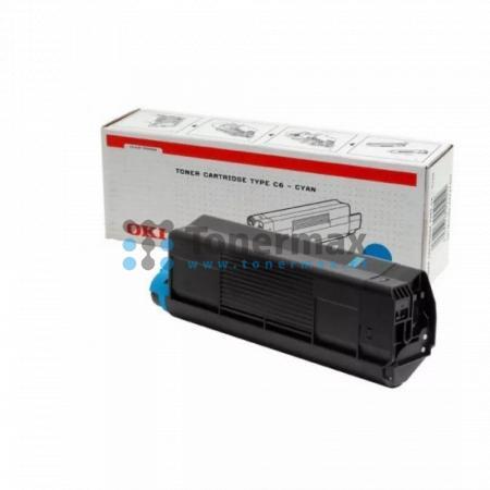 OKI 42127407, TYP C6, originální toner pro tiskárny OKI C5100, C5100n, C5200, C5200n, C5300, C5300dn, C5300n, C5400, C5400dn, C5400dtn, C5400n, C5400tn