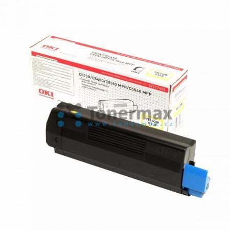 OKI 42127454, originální toner pro tiskárny OKI C5250, C5250dn, C5250n, C5450, C5450dn, C5450n, C5510, C5510 MFP, C5510MFP, C5540, C5540 MFP, C5540MFP