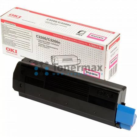OKI 42804538, originální toner pro tiskárny OKI C3200, C3200n