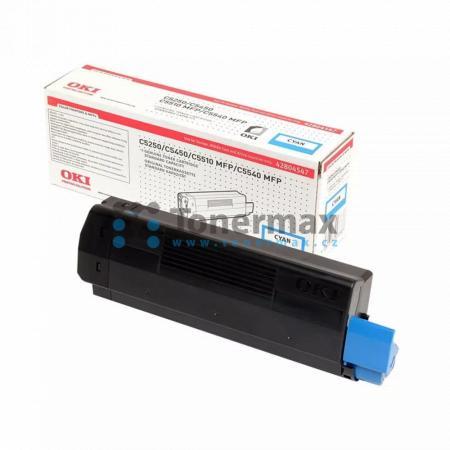 OKI 42804547, originální toner pro tiskárny OKI C5250, C5250dn, C5250n, C5450, C5450dn, C5450n, C5510, C5510 MFP, C5510MFP, C5540, C5540 MFP, C5540MFP