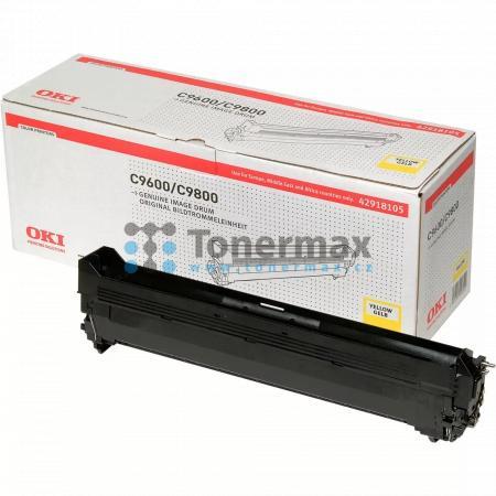 OKI 42918105, obrazový válec originální pro tiskárny OKI C9600, C9650, C9650dn, C9650hdn, C9650hdtn, C9650n, C9655, C9655dn, C9655hdn, C9655hdtn, C9655n, C9800, C9800 MFP, C9800MFP, C9800GA, C9800GA MFP, C9850, C9850 MFP, C9850MFP, C9850hdn, C9850hdtn