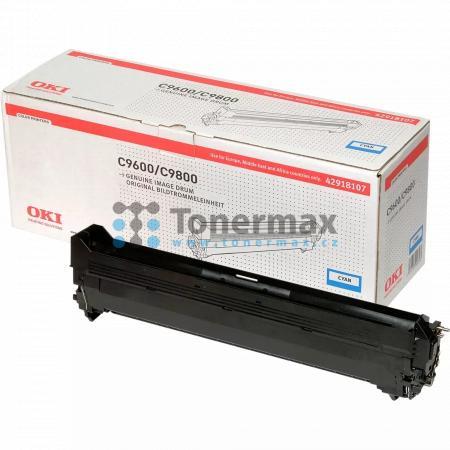OKI 42918107, obrazový válec originální pro tiskárny OKI C9600, C9650, C9650dn, C9650hdn, C9650hdtn, C9650n, C9655, C9655dn, C9655hdn, C9655hdtn, C9655n, C9800, C9800 MFP, C9800MFP, C9800GA, C9800GA MFP, C9850, C9850 MFP, C9850MFP, C9850hdn, C9850hdtn