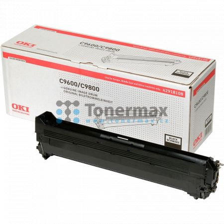 OKI 42918108, obrazový válec originální pro tiskárny OKI C9600, C9650, C9650dn, C9650hdn, C9650hdtn, C9650n, C9655, C9655dn, C9655hdn, C9655hdtn, C9655n, C9800, C9800 MFP, C9800MFP, C9800GA, C9800GA MFP, C9850, C9850 MFP, C9850MFP, C9850hdn, C9850hdtn