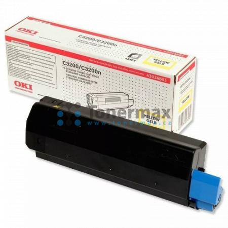OKI 43034805, originální toner pro tiskárny OKI C3200, C3200n