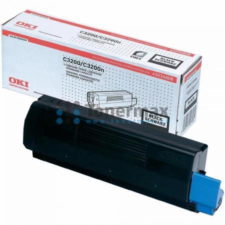OKI 43034808, originální toner pro tiskárny OKI C3200, C3200n