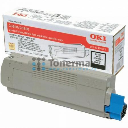 OKI 43324424, originální toner pro tiskárny OKI C5550, C5550 MFP, C5550MFP, C5800, C5800dn, C5800n, C5900, C5900cdtn, C5900dn, C5900dtn, C5900n