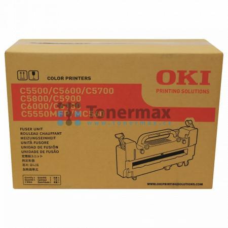 OKI 43363203, zapékací jednotka originální pro tiskárny OKI C5550, C5550 MFP, C5550MFP, C5600, C5600dn, C5600n, C5700, C5700dn, C5700n, C5800, C5800dn, C5800n, C5900, C5900cdtn, C5900dn, C5900dtn, C5900n, MC560, MC560n
