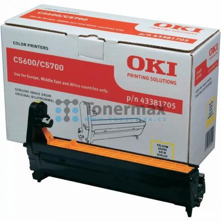 OKI 43381705, obrazový válec originální pro tiskárny OKI C5600, C5600dn, C5600n, C5700, C5700dn, C5700n